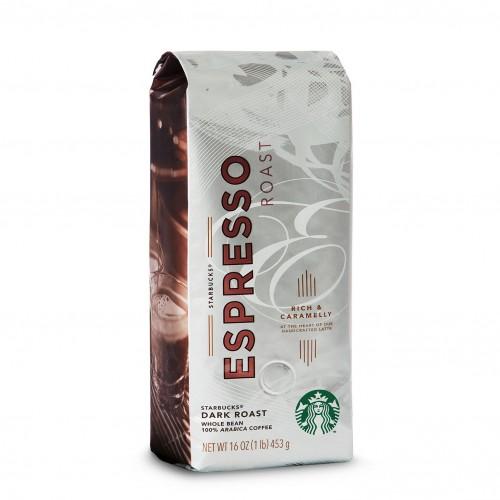 Кофе в зернах Starbucks Espresso, 454 грамма