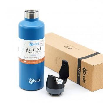 Термобутылка Cheeki Active Bottle Insulated Topaz 600 мл (AIB600TZ1)