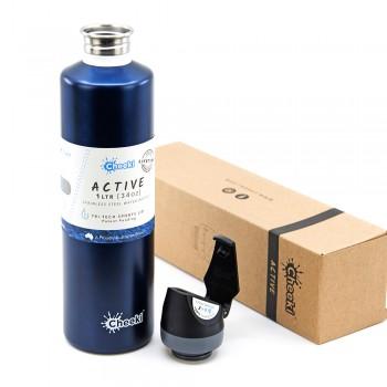Спортивная бутылка для воды Cheeki Single Wall Active Bottle Ocean 1000 мл (ASB1000OC1)