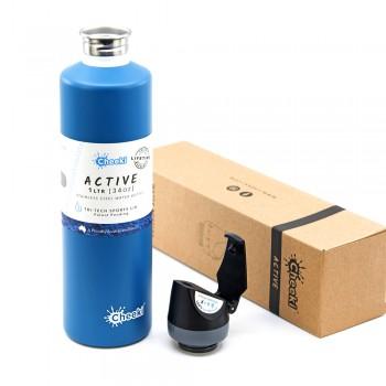 Спортивная бутылка для воды Cheeki Single Wall Active Bottle Topaz 1000 мл (ASB1000TZ1)