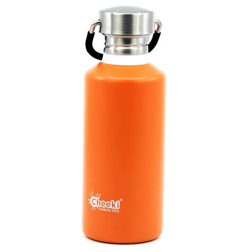 Детская бутылка для воды Cheeki Classic Single Wall Orange 500 мл (CB500OR1)