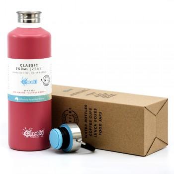 Бутылка для воды Cheeki Classic Single Wall Dusty Pink 750 мл (CB750DP1)