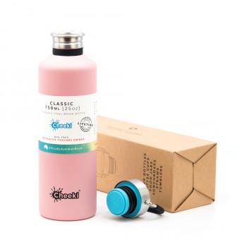Бутылка для воды Cheeki Classic Single Wall Pink 750 мл (CB750PH)