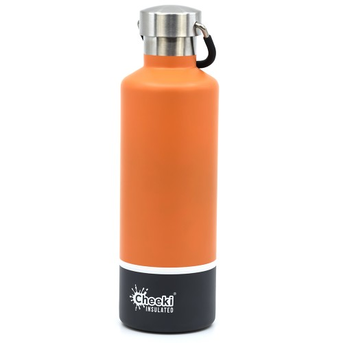 Термос Cheeki Classic Insulated Orange Grey 600 мл (CIB600OG1)