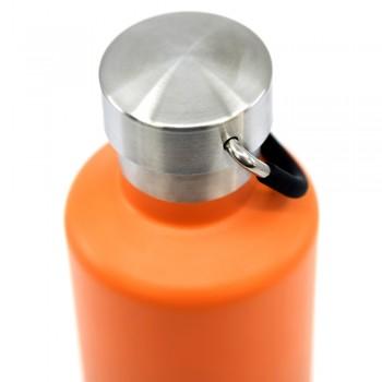 Термос Cheeki Classic Insulated Orange Grey 600 мл (CIB600OG1)