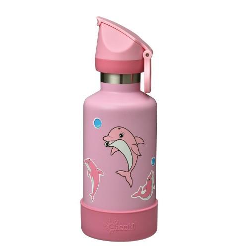 Термобутылка детская Cheeki Insulated Kids Dolphin 400 мл (KIB40DP1)