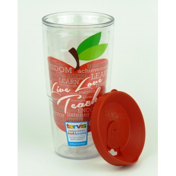 Термочашка Tervis Live Love Teach 700 мл (T026)