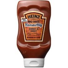 Соус барбекю Heinz Kansas City BBQ Sauce, 572 гр.