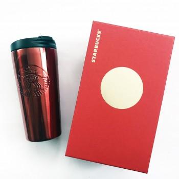 Термочашка Starbucks Embossed Red 473 мл (11051803)
