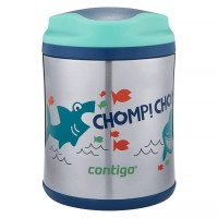 Термос для еды Contigo Sharks Blue/Teal 295  (73507)
